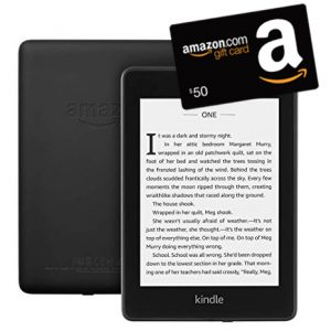 Kindle Paperwhite and Amazon gift card